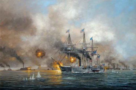 THE BATTLE OF MOBILE BAY