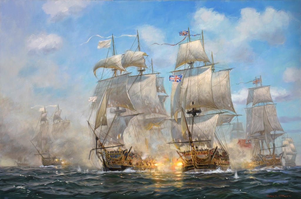 BATTLE OF THE CHESAPEAKE