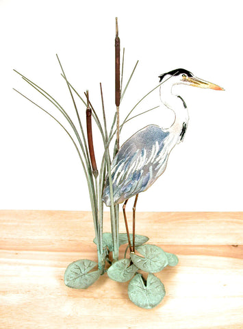 TABLETOP BLUE HERON