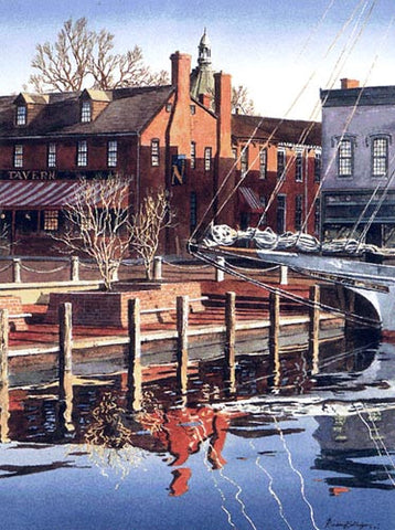 CITY DOCK - PARK AT THE HEAD OF ANNAPOLIS€™ €ŒEGO ALLEY€?