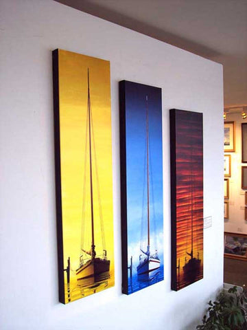 TRIPTYCH - MORNING, NOON & SUNSET