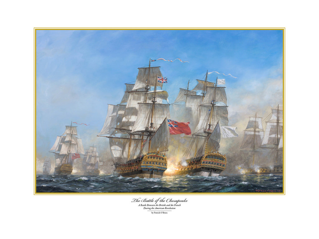 THE BATTLE OF THE CHESAPEAKE
