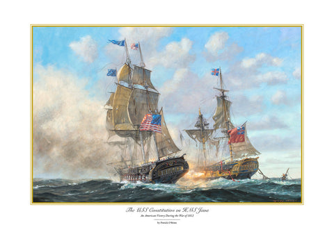 THE USS CONSTITUTION vs HMS JAVA