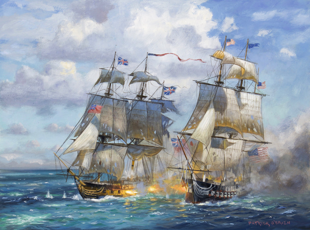 THE USS CONSTITUTION VS. RMS JAVA