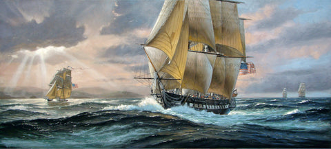 """SAILING TO VICTORY"" The USS United States in 1812"