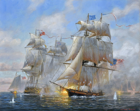 THE BATTLE OF LAKE ERIE, 1812