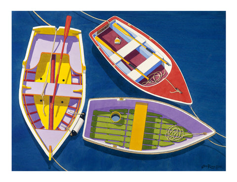 THREE RINGY DINGHIES