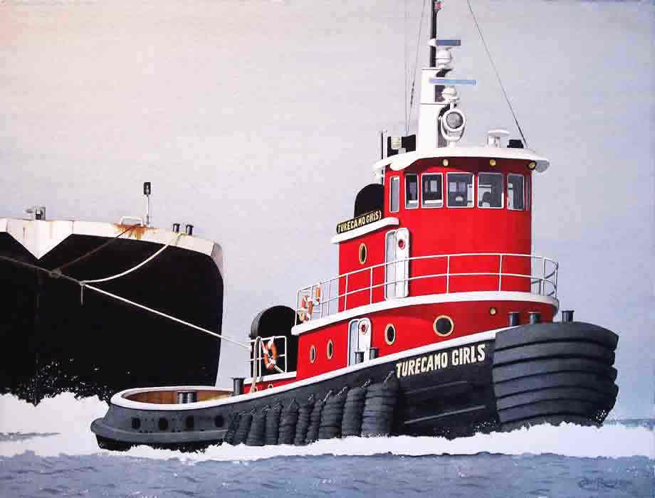 """TURECAMO GIRLS"" NEW YORK TUG"