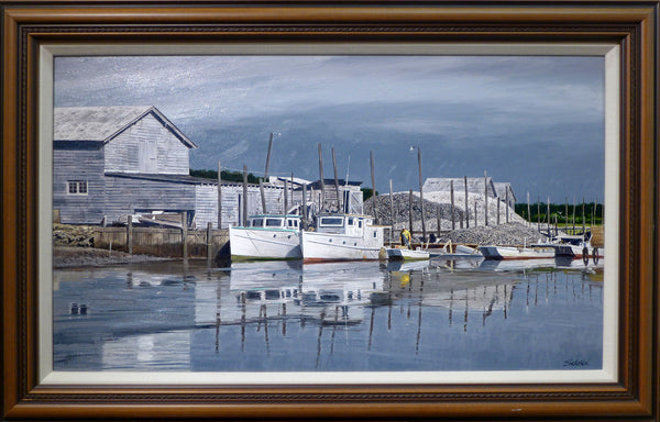 THE EXMORE DOCKS - Virginia - Original