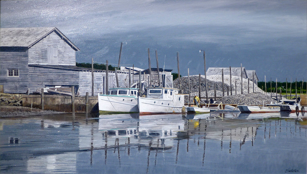 The Exmore Docks by Howard Schafer