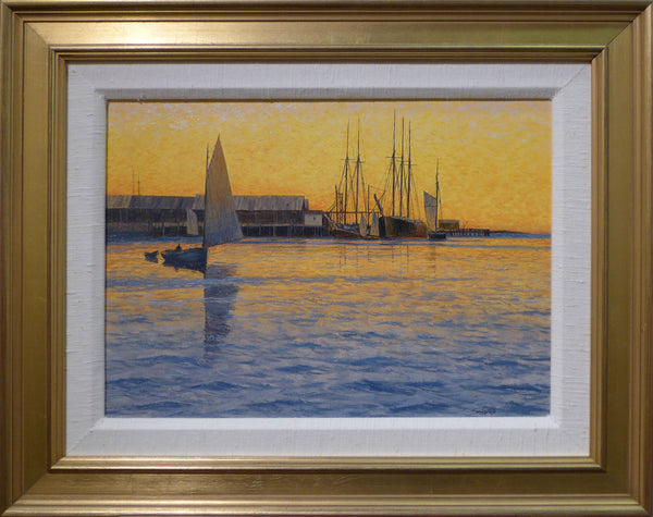 Harbor at Sunset by Howard Schafer
