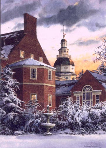 The State House – Governor's Mansion and State House Dome, Annapolis