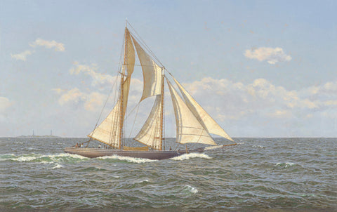 BELLE J. NEAL, CLIPPER FISHING SCHOONER, 1880