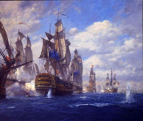 BATTLE OF ST. VINCENT