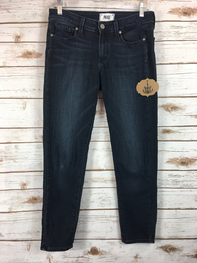 PAIGE Verdugo Crop Denim (27) AS IS