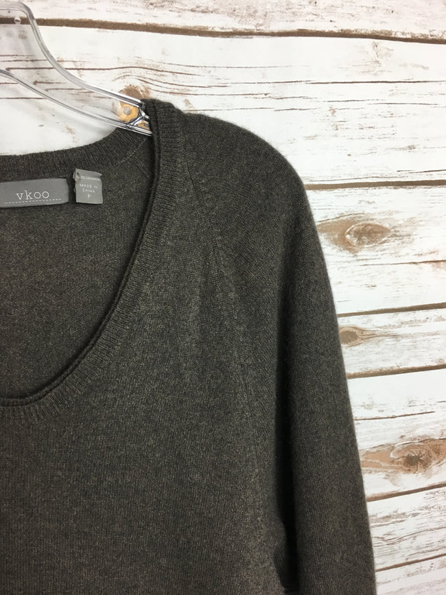 VKOO Brown CASHMERE Sweater
