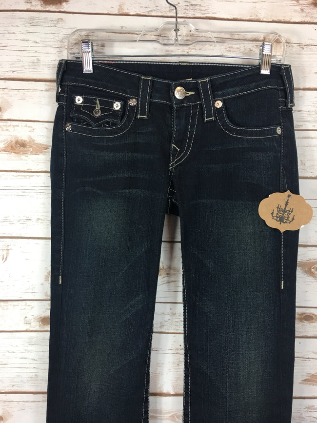 TRUE RELIGION BILLY Straight Leg Denim (27)
