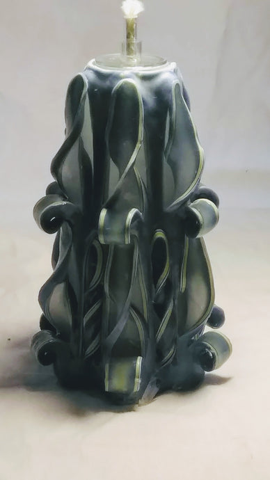 Carved Candle 1
