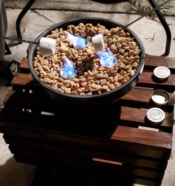 DIY Tabletop Fire Bowl (Perfect For S'mores)