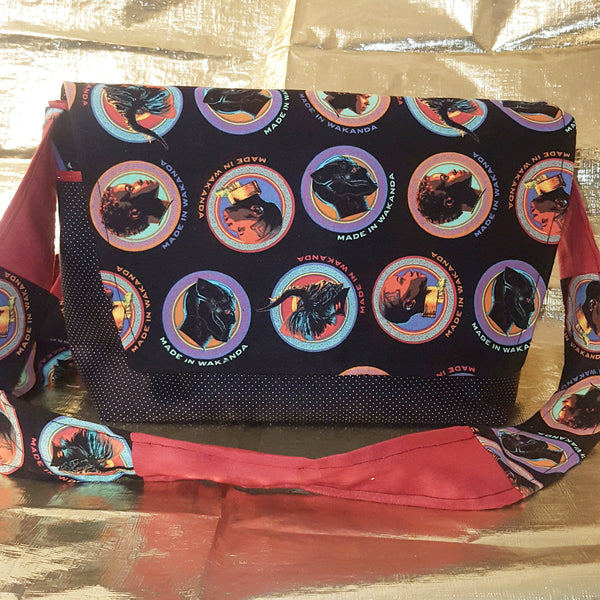Sew With Me: Black Panther Messenger Bag