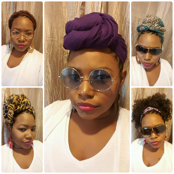 Wrap With Me: Headwrap Tutorials