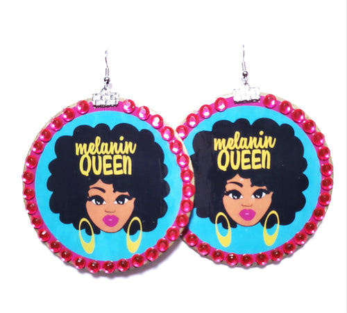 Melanin Queen Earrings