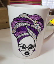 Wrapping Rhinestone Bling Coffee/Tea Mug
