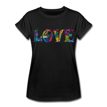 Marusha Love Women's Relaxed Fit T-Shirt - black