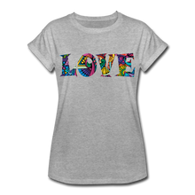 Marusha Love Women's Relaxed Fit T-Shirt - heather gray