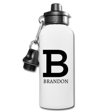 Personalized Water Bottle - white