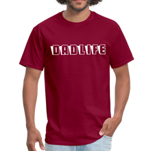 Dad Life Men's T-Shirt - burgundy
