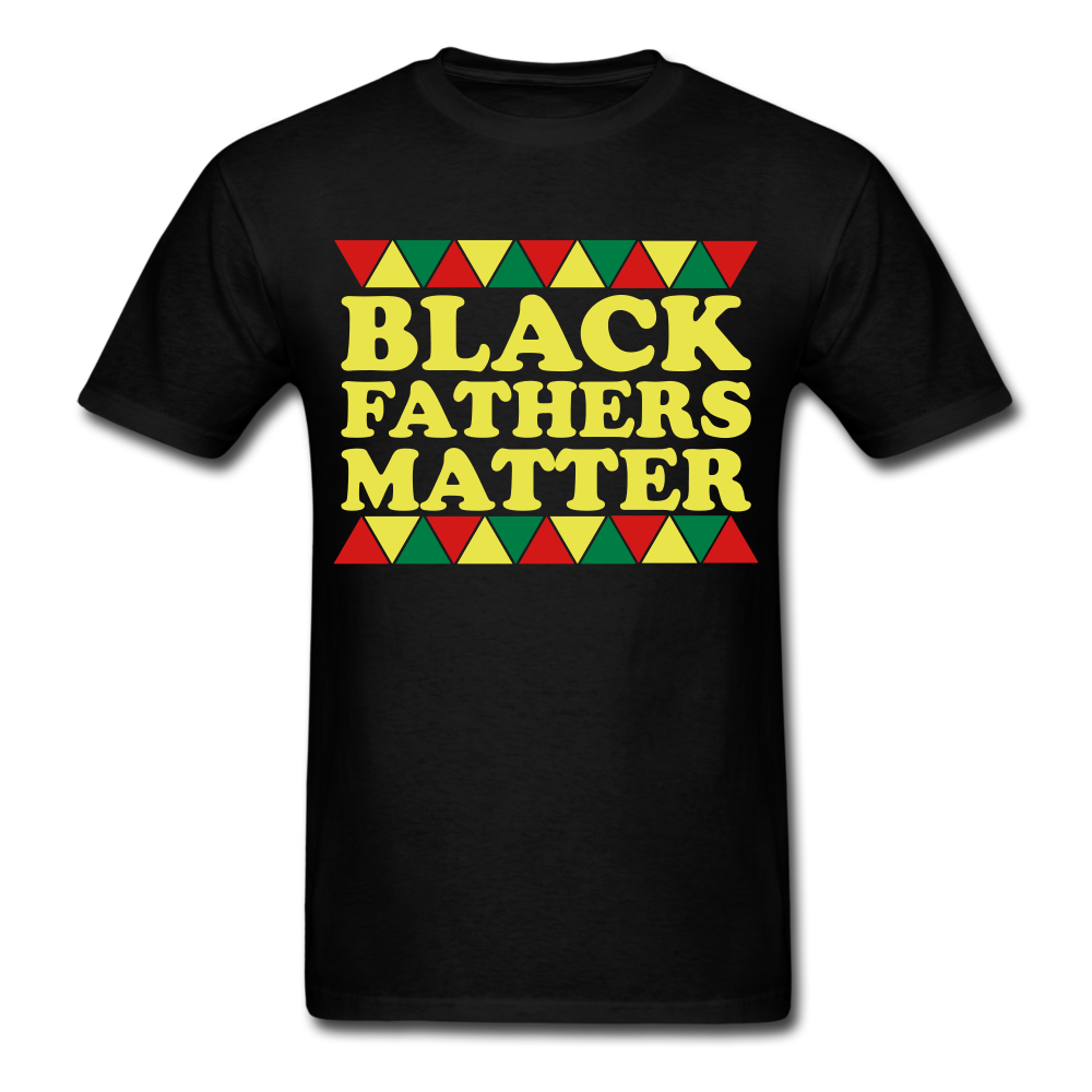 Black Father's Matter Men's T-Shirt - black