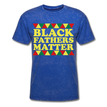 Black Father's Matter Men's T-Shirt - mineral royal