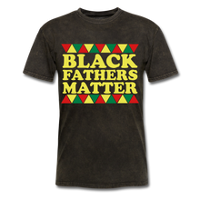 Black Father's Matter Men's T-Shirt - mineral black