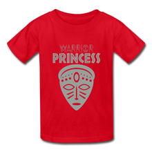 Warrior Princess Youth T-Shirt - red