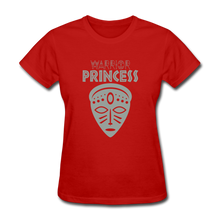 Warrior Princess Women's T-Shirt - red