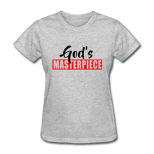 God's Masterpiece Women's T-Shirt - heather gray