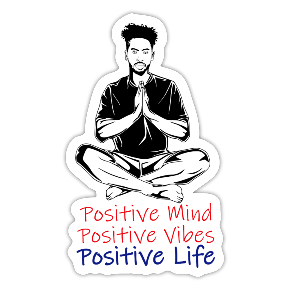 FREE GIFT With Purchase - Positive Life Sticker - white matte