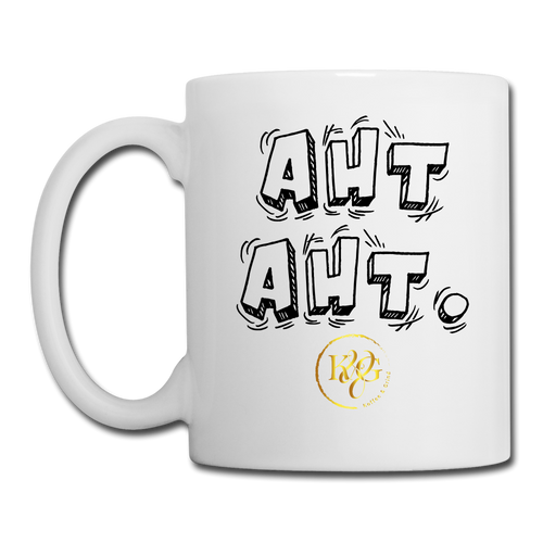 Aht Aht Coffee/Tea Mug - white