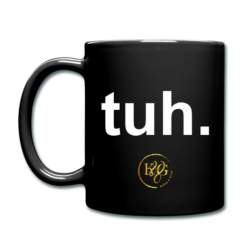 Tuh Color Mug - black