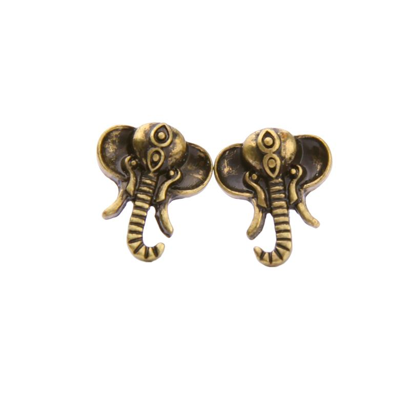 Vintage Elephant Earrings