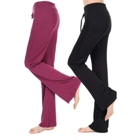 Relaxed Fit Yoga Pants - Lil and Cole