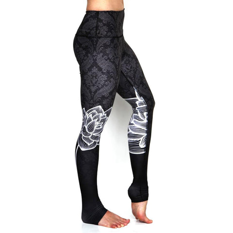Lotus Flower Leggings - Lil and Cole