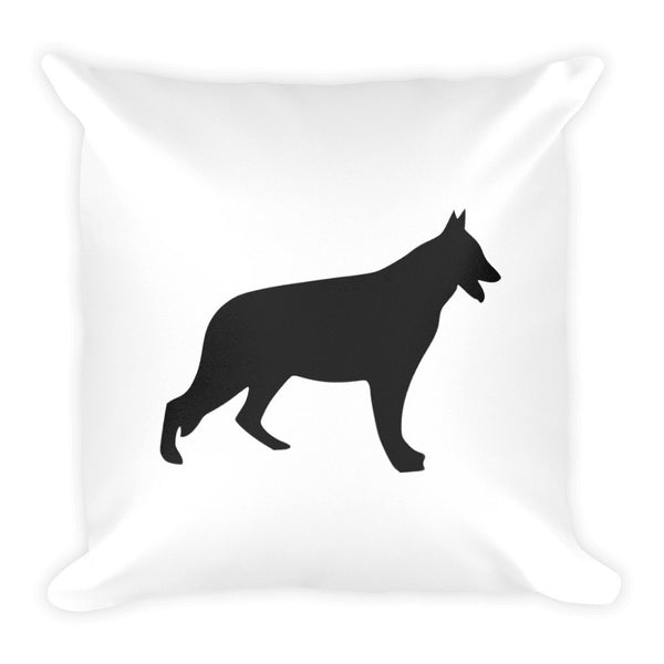Square Pillow - German Shepherd Life - Love German Shepherds? Grab this!