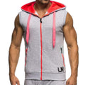 Slim Fit Hooded Tank