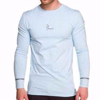 Flex-fit Solid Long Sleeve