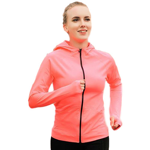 Therma Cool Zip Up Long Sleeve