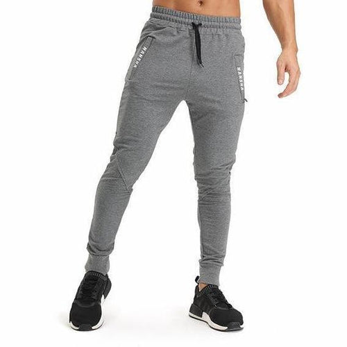 Slim Fit Elastic Cotton Joggers