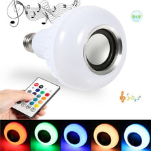 Wireless Smart LED Light with Speaker