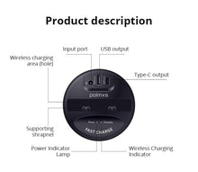 Wireless Car Charger Cup